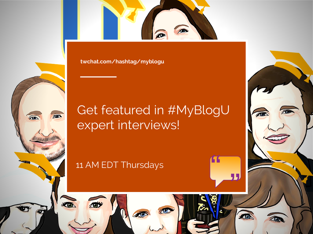 MyBlogU interviews: get featured and cited