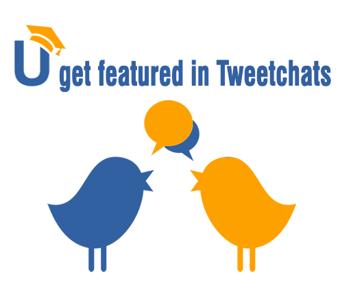 Guest featured in Twitter chats