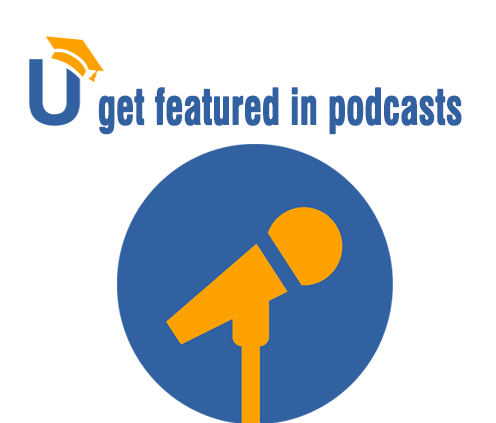 Get featured in podcasts