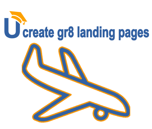 landing pages blogging